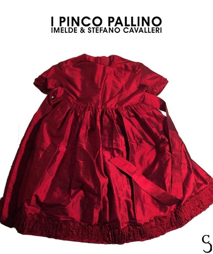 Pinco Pallino Amazing Girl's Red Dress _ Size: 5 #PincoPallino #DressyPageantWedding