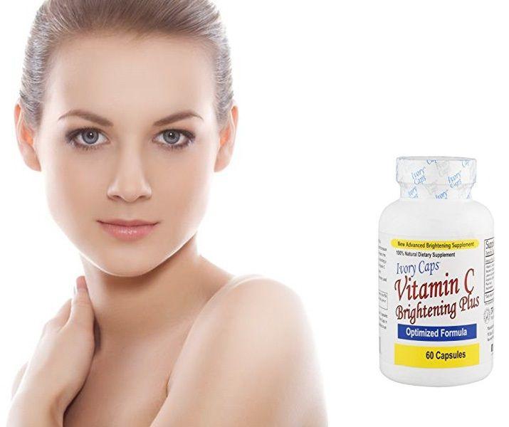 حبوب فيتامين سي ايفوري كابس الامريكية للتبييض العلبة تحتوي على 60 كبسولة تكفي شهر تاخذ كبسولتين فاليوم مع حبوب ايفوري كاب Vitamins Hand Soap Bottle Hand Soap