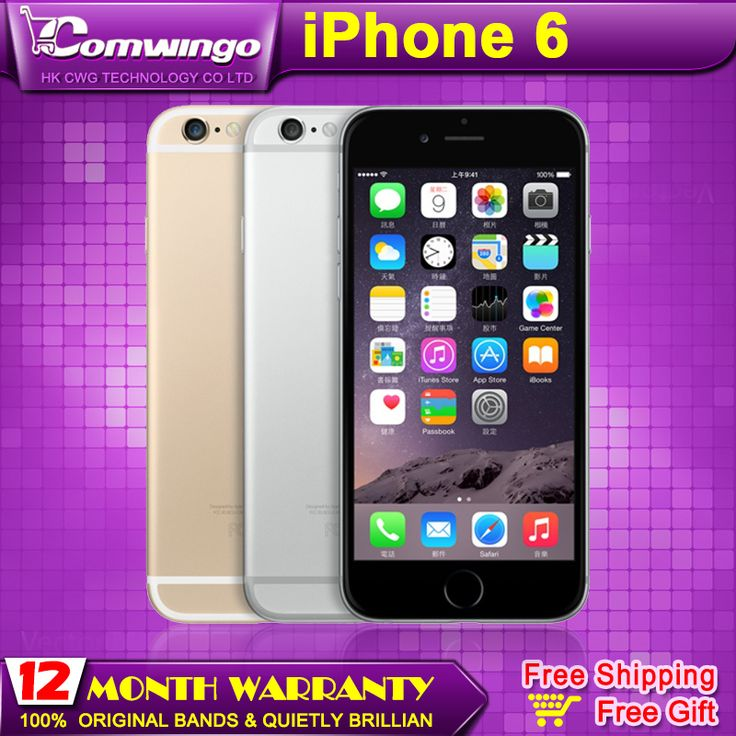 Cheap ram high, Buy Quality ram red directly from China ram button Suppliers: 2014 Original Apple iPhone 6 plus 16GB/64GB/128GB ROM 8MP camera 1334x750 pixel WIFI GPS Bluetooth Cell phone multi lang