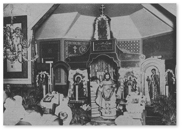 igreja ortodoxa russa, vila alpina