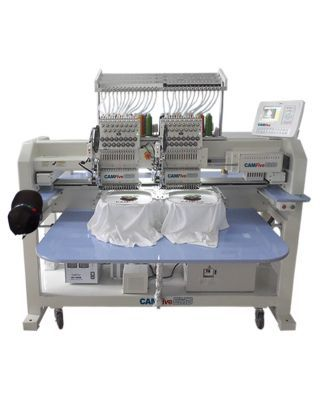 CAMFive EMB CT1502 Two Heads Industrial - Professional Embroidery Machine