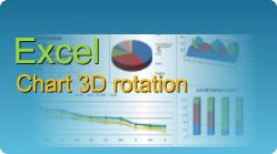Set 3D rotation on Excel chart, X and Y rotation, elevation, height and perspective from C#, VB.NET, Java, PHP, ASP classic, C++, C++.NET, VB6, VBS, ColdFusion!  #EasyXLS #Excel #Chart #3D #Rotation
