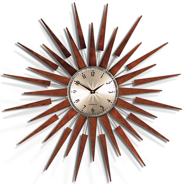 70s gold wall clock - Google Search
