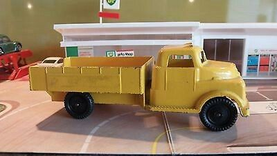 LONE STAR VINTAGE FLAT BED TRUCK - YELLOW - MADE IN ENGLAND