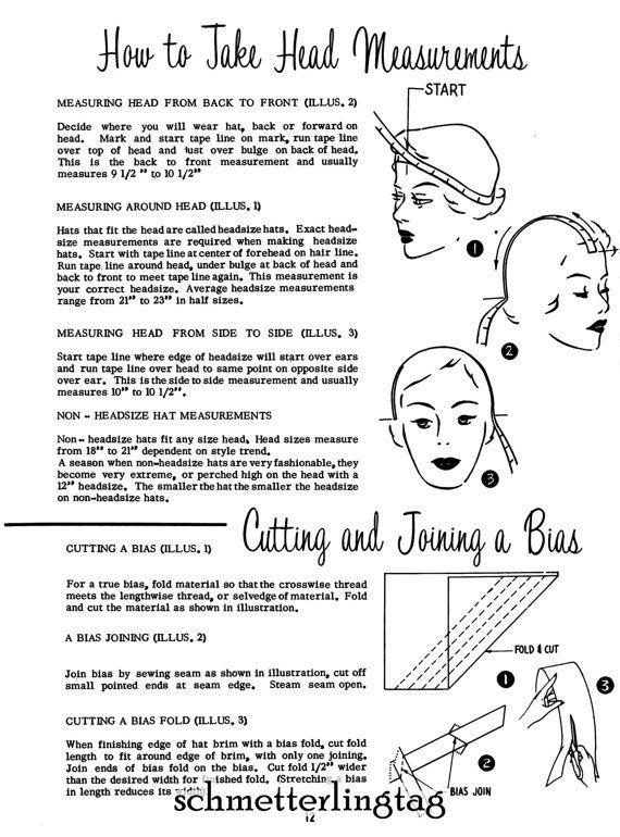 1966 Millinery Book Hat Making Make Hats 30 by schmetterlingtag