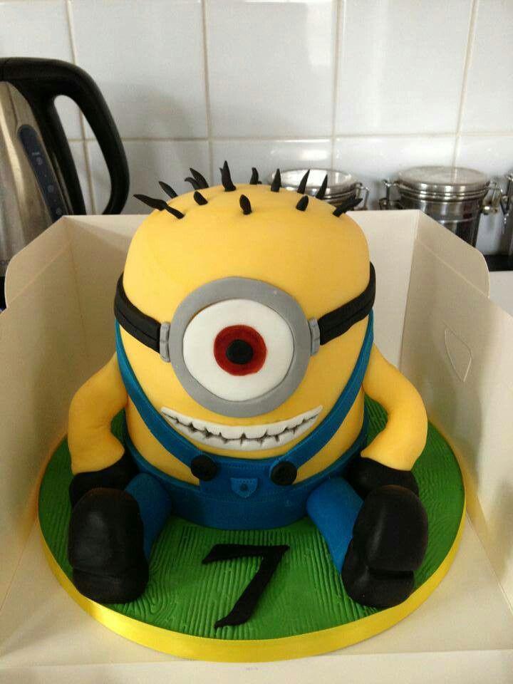 Minion D Cake Pinterest