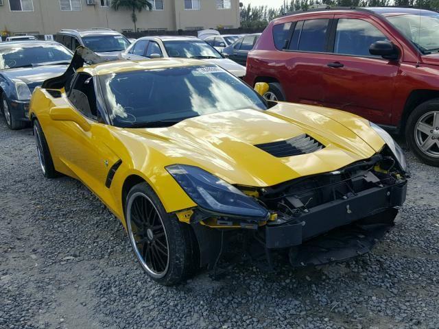 Salvage 2014 Chevrolet Corvette  Coupe For Sale   Salvage Title