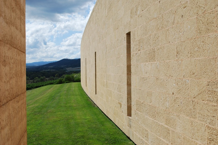 Walls @ TarraWarra love this place