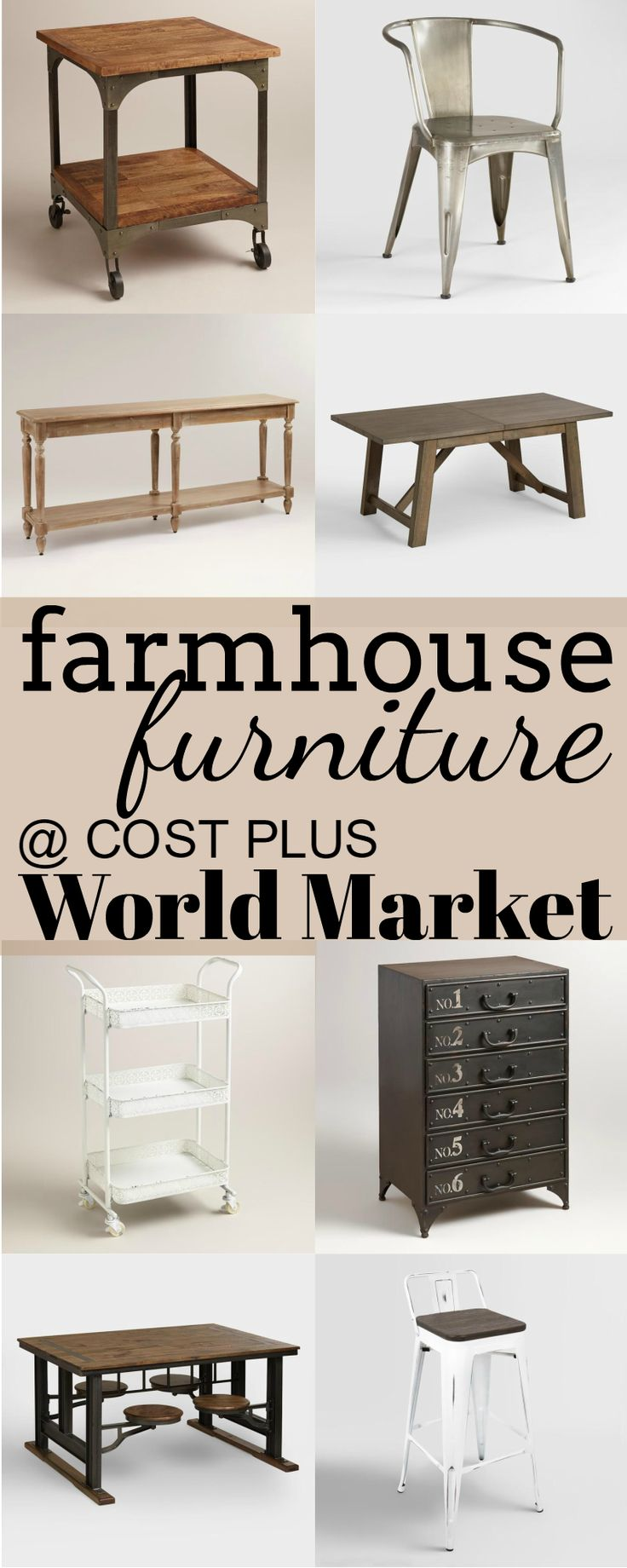 Farmhouse Furniture at Cost Plus World Market. Best 25  World market cost plus ideas on Pinterest   Cost world