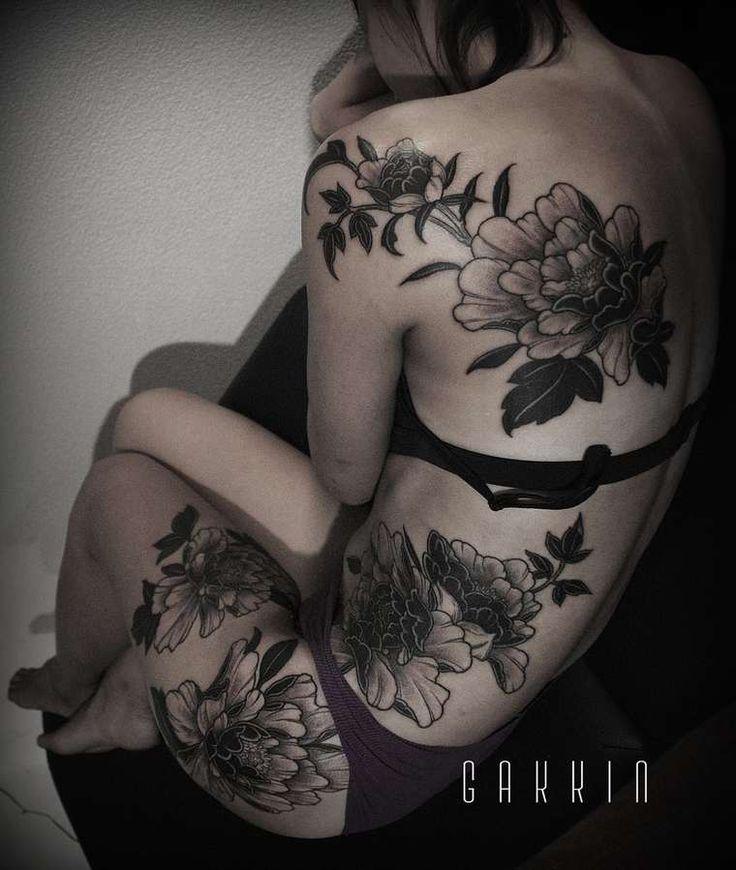 Irezumi Tattoos – Les tatouages traditionnels japonais de Gakkin (image)