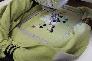 INSTRUCTIONS FOR HOOPING T-SHIRTS FOR MACHINE EMBROIDERY