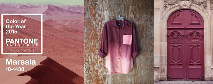 marsala and pink blush marsala couleur 2015 pinterest mercerie couleurs chambre et blog. Black Bedroom Furniture Sets. Home Design Ideas