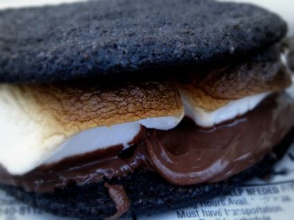 Nutella s'mores. OH YES.