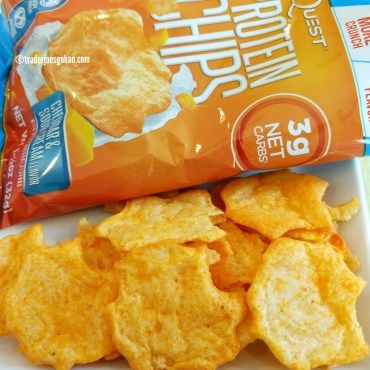 Quest Protein Chips Cheddar & Sour Cream  クエスト プロテインチップス|  #Quest #ProteinChips #クエスト #プロテインチップス #protein