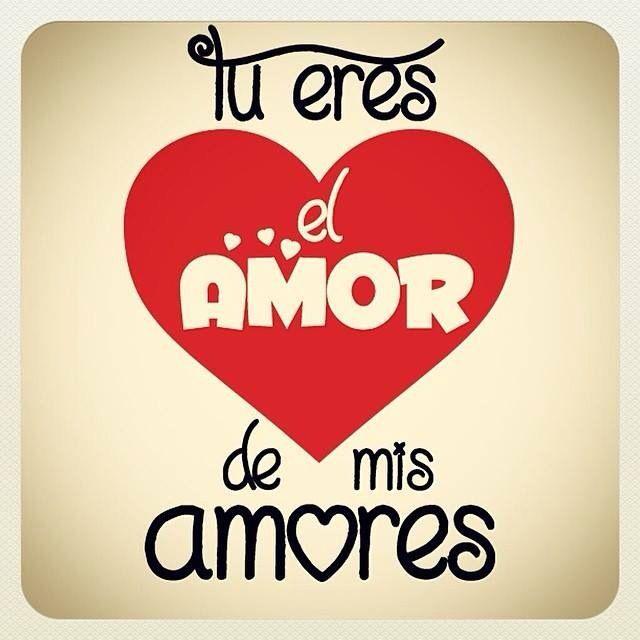 Tu eres el amor de mis amores