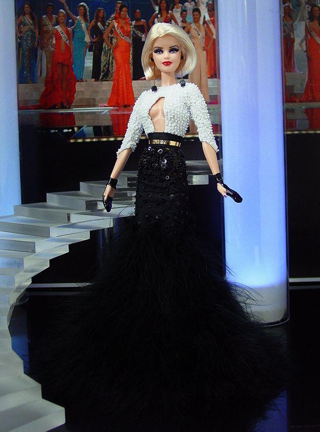 Miss Nebraska 2013 – Vestido inspirado de la actriz Paz Vega en Cannes 2012  diseñado por Stephane Rolland de la Colección 2012