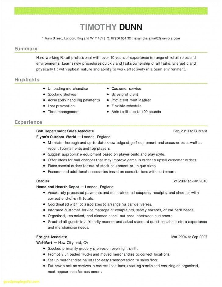 008 Template Ideas Customer Service Resume Templates Retail