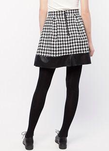 Mini κλος φούστα με μοτίβο
