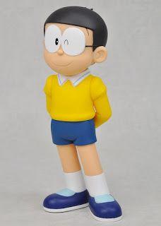 FIGURAS DE COLECCION: Figura de Nobita, de vinyl en formato grande