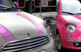 Pestañas postizas para tu auto