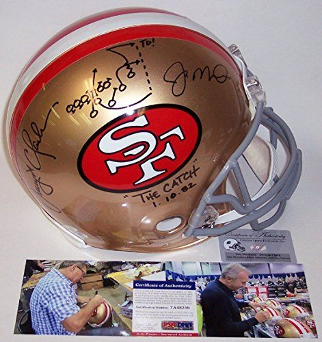 Dwight Clark San Francisco 49ers Autographed Items