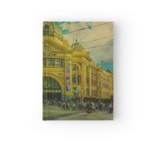 The Cyclist, Toorak Tram and Something Different Hardcover Journal