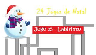 Traquinices e Lápis de Cera: Jogo 15 - Labirinto