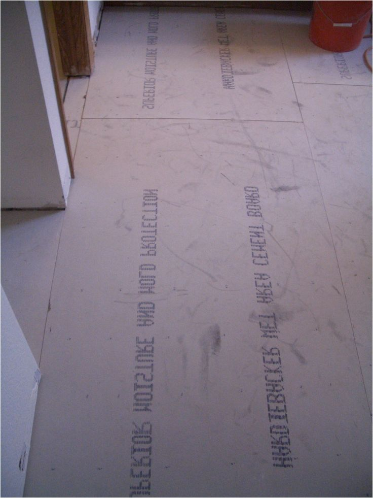 how to install cement backerboard for floor tile from Cement Board For Bathroom Floor