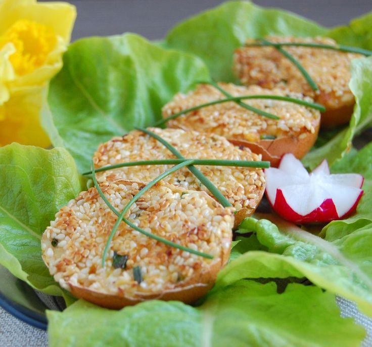 jajka faszerowane w skorupkach przepis - zjem to blog kulinarny