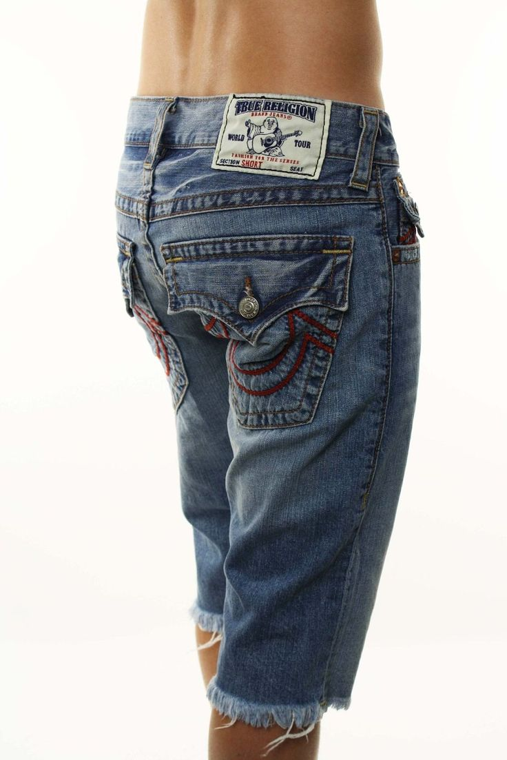 True Religion store | True Religion Brand Jeans Menu0026#39;s u0026quot;Straight Cut Off Shorts Red ...