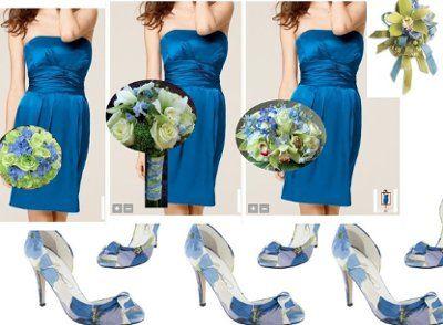 horizon blue and clover green wedding   Flower ideas   Weddings, Style and Decor   Wedding Forums ...