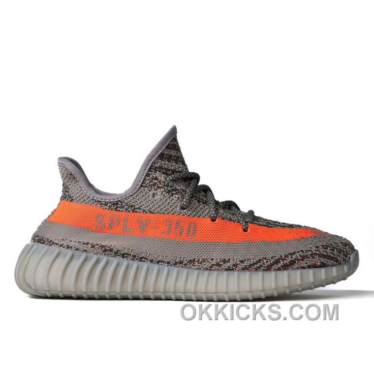 The latest installment of the Yeezy Boost lineup is the Yeezy Boost 350 in  the steel grey/beluga/solar red colorway designed by Kanye West.