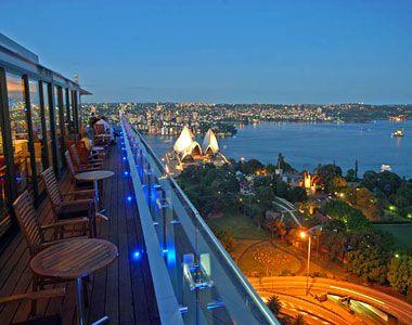 The Overlook Restaurant in Sydney, Australia.
