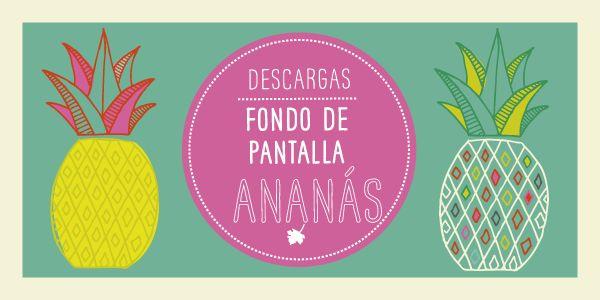 Wallpaper Ananás