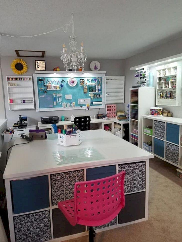 12 Best Ikea Craft Room Ideas With Stunning Storage Organization Atelier Couture Amenagement Rangement Couture Scrapbooking Rangement