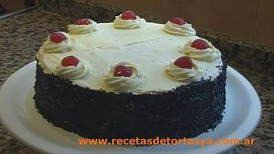Torta Selva Negra - les comparto la receta de la deliciosa e increíble Torta Selva Negra, para que la hagan, compartan y disfruten. Les presento también el video de la receta de la Selva Negra. Se animan hacerla?
