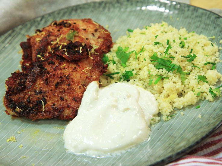 Sesamkyckling med couscous | Recept.nu