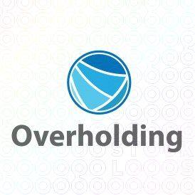 Exclusive Customizable Circle  Logo For Sale: Overholding | StockLogos.com