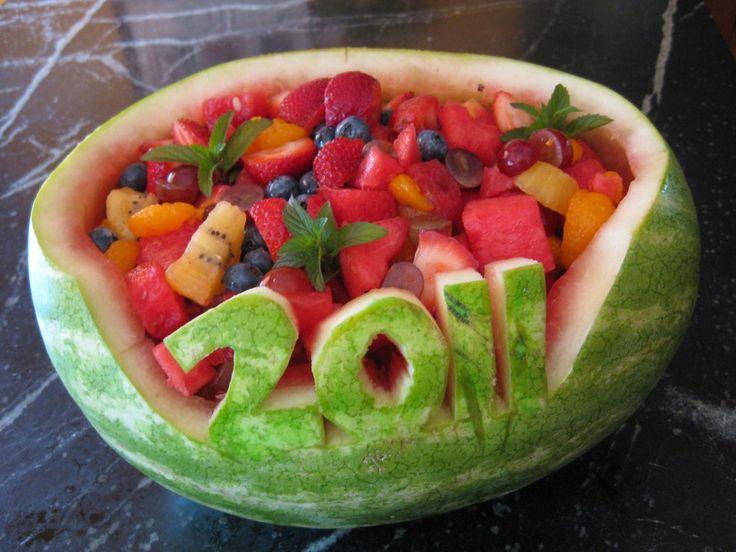 Graduation Watermelon Bowl