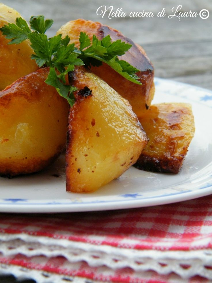 patate arrosto - nella cucina di laura