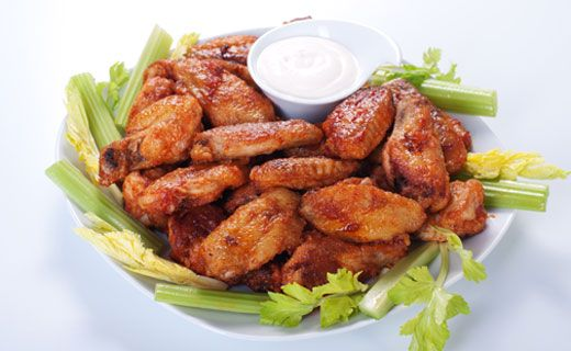 Epicure's Cranberry Barbecue Chicken Wings