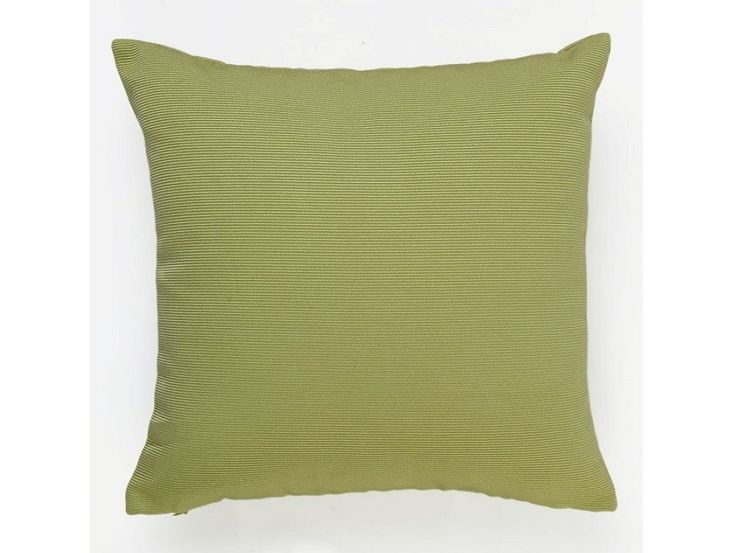 Dallas Ribbed Cushion Cover Green - A plain cushion with textured lines that create subtle detail on this cover, thus allowing easy pairing with patterns to bring out colours as well as warm tones and definitely neutrals.