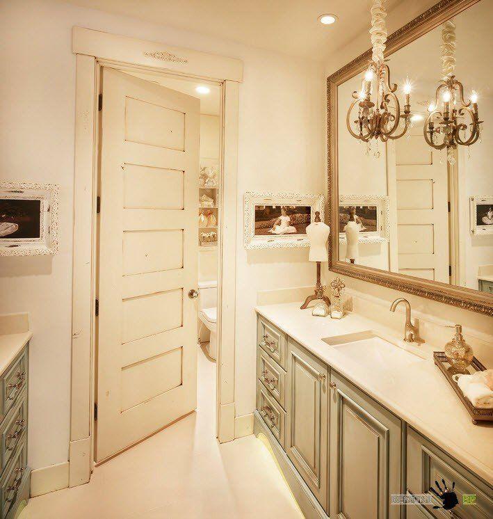 Люстра в ванной комнате (100 фото) идеи для освещения