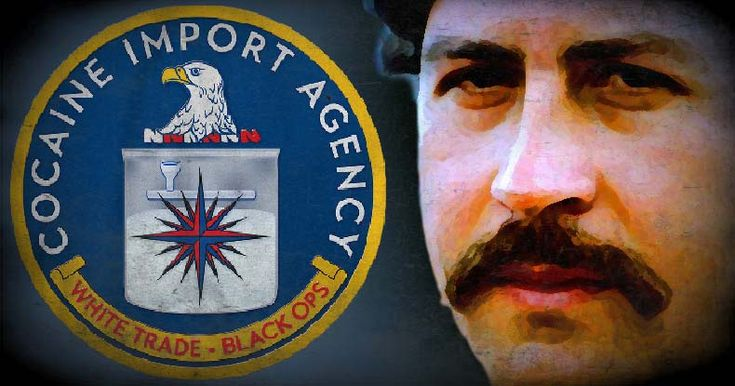 Notorious drug kingpin Pablo Escobar 'worked for the CIA selling cocaine' his son now claims. Media conveniently ignores it.