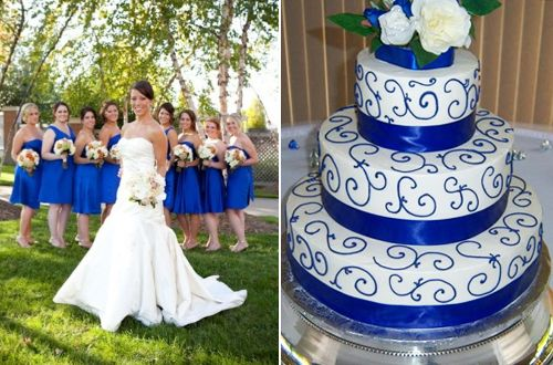 wedding ideas royal blue and silver royal blue white amp silver wedding ideas 27917