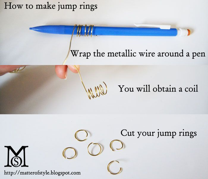 How to make jump rings  jewelry making