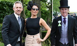 Royal Ascot 2015 sees sport stars AP McCoy, Gary Lineker, Charlie Austin and Carl Frampton take in the first day of racing | Daily Mail Online