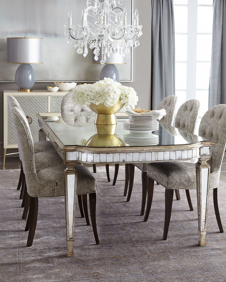 Dining Table With Mirror 160 Best Dining Room Inspiration Images On Pinterest  Dining Room .