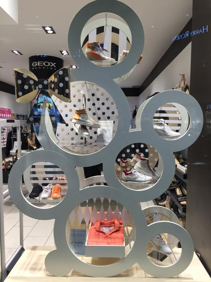 "GEOX CANADA,Eaton Centre, Toronto, Canada, ""Spot On"", pinned by Ton van der Veer"