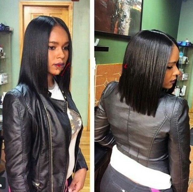 Natural Black Human Hair Bob Wig Indian Virgin Hair Silky Straight Lace Wig For Black Women Natural Hairline Top Quality